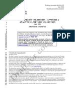 Guideline Validation AnalyticalMethodValidationQAS16-671