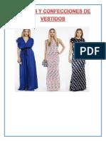 Confeccion de Vestidos