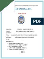 Adminitracion en America Latina y en El Peru Terminado