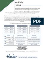 02 Resharpening Info & Decon Certificate