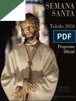 Programa de la Semana Santa de Toledo 2016