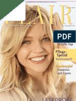 Leseprobe Flair Magazin Sommer 2010