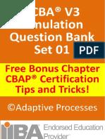 ECBA V3 Question Bank