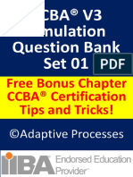 CCBA V3 Question Bank