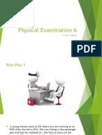 Physical Examination 6
