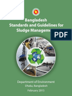 Bangladesh Standards and Guideline for Sludge Management- September 2016