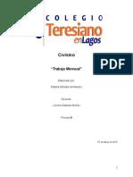 Civismo- Trabajo Mensual 9