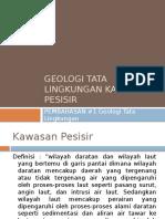 Geologi Tata Lingkungan Kawasan Pesisir