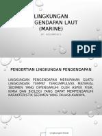 Lingkungan Pengendapan Laut (Marine)