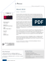 Word 2010 - Editions ENI