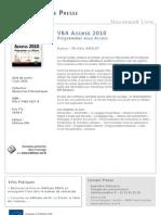 VBA Access 2010 - Editions ENI