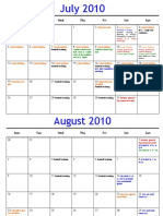 2010 Calendar Web