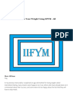 Download Manage Your Weight Using IIFYM - All as PDF