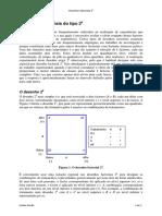 Desenhos Factoriais do Tipo 2k