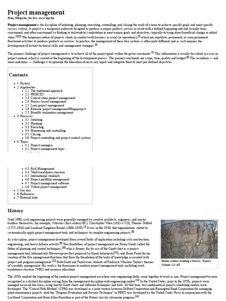 Project management wikipedia project management audit xflitez Gallery