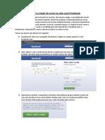Tutorial de Criação de Conta No Site Facebook