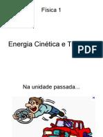 Trabalho e Energia