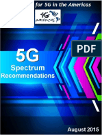 4G Americas 5G Spectrum Recommendations White Paper