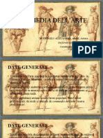 Commedia Dell'Arte, ppt