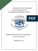 Finance Assignment 2