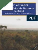 Ab'Saber, Aziz. Os Domínios de Natureza No Brasil - Potencialidades Paisagísticas