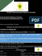 Aula 01 - Introdução ao DIP e Privado - Alternativa - Histórica.pptx