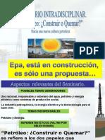 Diapositivas Del Foro Petróleo
