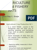 Agriculture and Fishery Arts