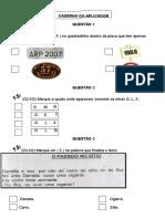 Caderno Do Aplicador Avaliação Externa 3013.2 -2ºano