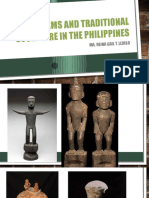 Early Forms and Traditional Sculpture in the Philippines