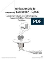 Communication Aid to Capacity Evaluation CACE