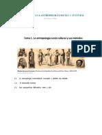 El Concepto de Antropología Socio-cultural