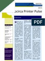 Quocirca Printer Pulse June 2010