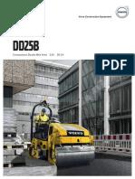 Brochure Compacteur Volvo DD25B | SOFEMAT