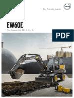 Brochure Pelle Sur Pneus Volvo EW60E | SOFEMAT
