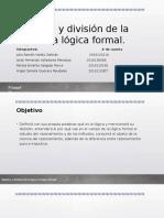 1.Objetivo y División de La Lógica, La - Copia