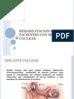 Rehabilitacion Del Paciente Con Implante Coclear