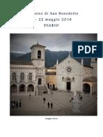Diario Cammino San Benedetto 2016