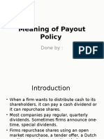 Payout Policy (1)
