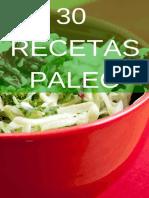 30 Recetas Paleo_ La Dieta Para - Noemi Cervantes