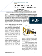DESIGN AND ANALYSIS OF DETACHABLE TYPE BACKHOE AND LOADER