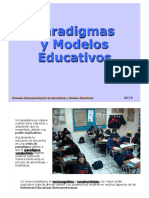 TEMA3+DOCU+2.+paradigmas-y-modelos-educativos DOCUMENTO 2 ASIGNATURA APRENDIZAJE