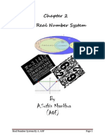 Chapter 2 Real Number System for Student New