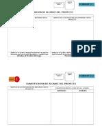 Formatos Para Ciclo de Vida Gestion de Proyectos