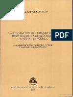 Miguel Ramos La Formación Del Concepto de Historia Literaria