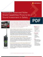 Motorola Advanced Noise Shield Capabilities a Sound Investment in Safety