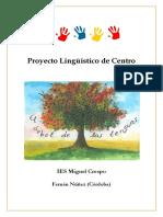 224281972 Proyecto Linguistico de Centro IES Miguel Crespo Unlocked