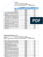 Matrices Semestrales