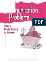 Communication Problems after a Brain Injury or a Stroke
