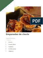 Empanadas de Choclo